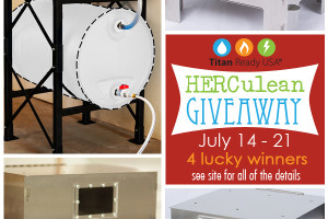 HERC Oven Giveaway x3 + Hydrant Water Storage System