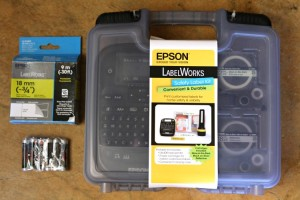 Be Safe & Organized with an Epson Safety Label Kit